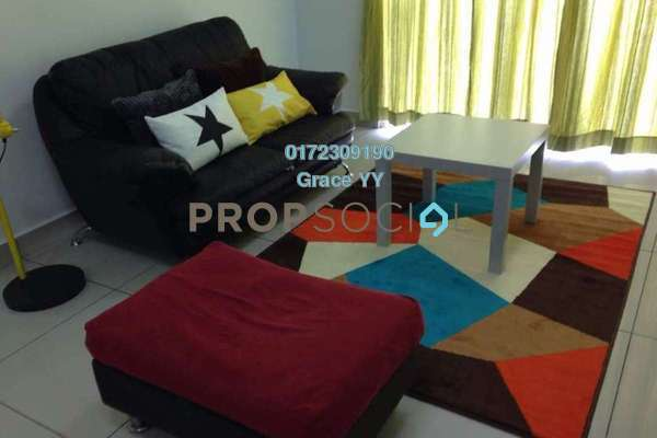 For Rent Condominium at Endah Promenade, Sri Petaling Freehold Fully Furnished 4R/3B 3k