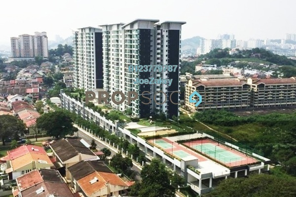 For Rent Condominium at KL Palace Court, Kuchai Lama Freehold Semi Furnished 2R/2B 1.4k
