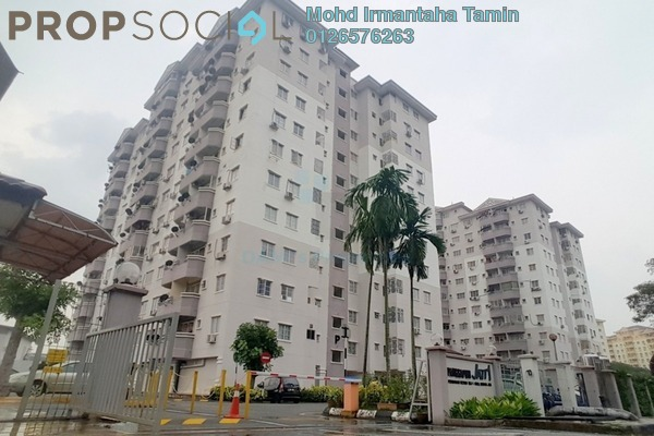For Sale Apartment at Jati 1 Apartment, Subang Jaya Leasehold Unfurnished 3R/2B 300k