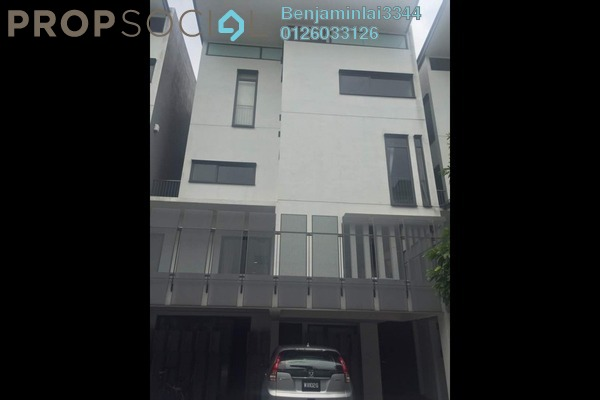 For Sale Terrace at The Mansions, Desa ParkCity Freehold Semi Furnished 7R/8B 6m