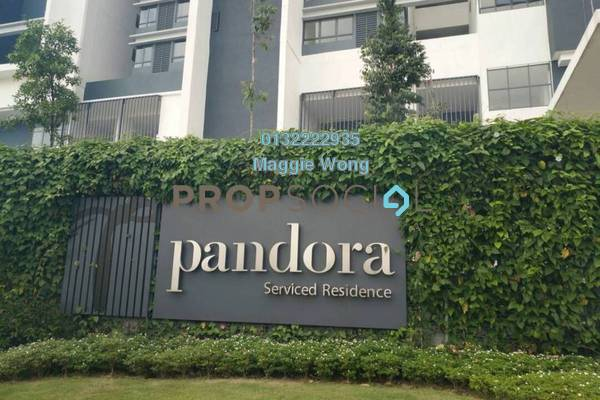 For Rent Condominium at Tropicana Metropark, Subang Jaya Freehold Semi Furnished 1R/1B 1.5k