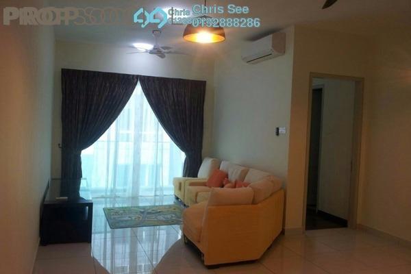 For Rent Condominium at Glomac Damansara, TTDI Freehold Semi Furnished 3R/2B 2.8k