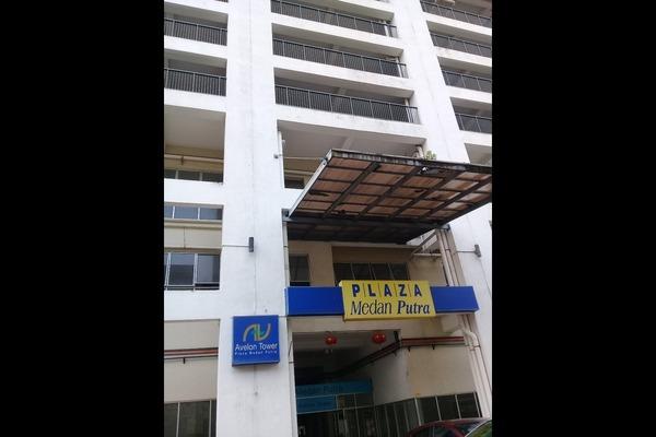 For Rent Shop at Plaza Medan Putra, Bandar Menjalara Freehold Unfurnished 0R/0B 2k