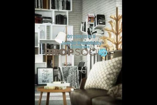 For Sale Condominium at Uptown Residences, Damansara Utama Freehold Semi Furnished 1R/1B 370k
