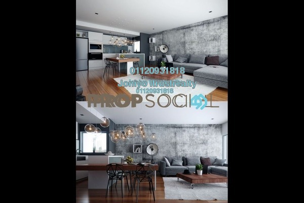 For Sale Condominium at The Potpourri, Ara Damansara Freehold Semi Furnished 3R/2B 580k