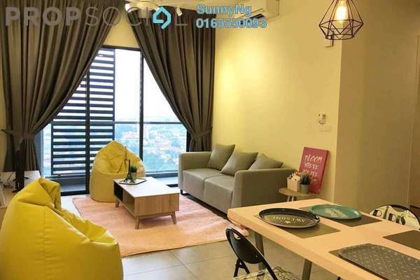 For Rent Condominium at The Petalz, Old Klang Road Freehold Fully Furnished 3R/2B 2.8k
