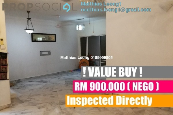 For Sale Terrace at Putra Indah, Putra Heights Freehold Semi Furnished 4R/3B 900k