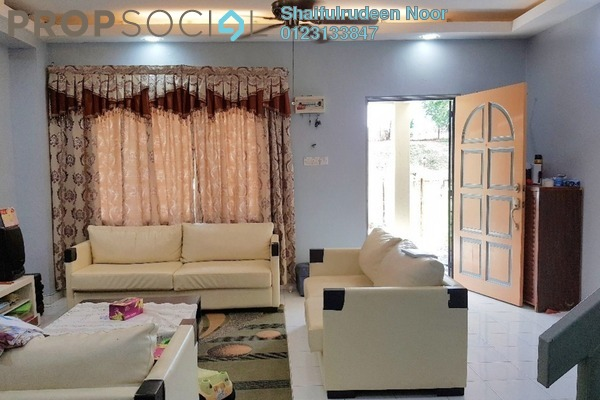 For Sale Terrace at Bandar Tasik Puteri, Rawang Freehold Semi Furnished 4R/3B 370k