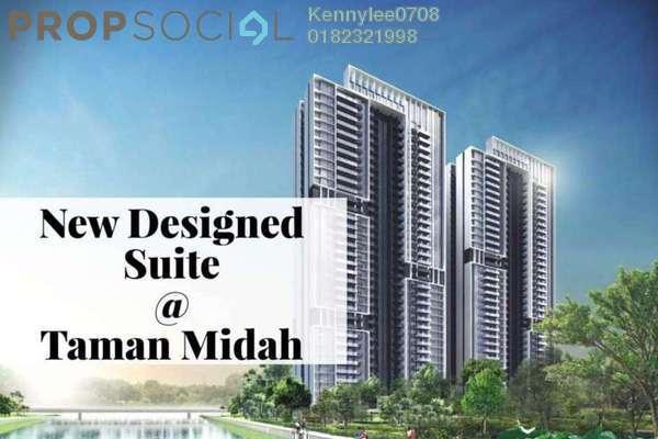 For Sale Condominium at Taman Midah, Cheras Leasehold Semi Furnished 3R/2B 390k