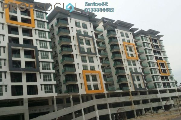 For Rent Condominium at Mahkota Garden Condominium, Bandar Mahkota Cheras Freehold Semi Furnished 4R/2B 1.3k