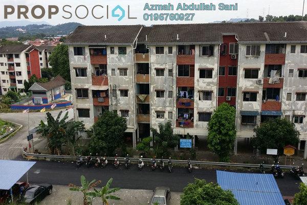 For Rent Apartment at Seksyen 4, Bandar Baru Bangi Freehold Semi Furnished 2R/1B 600translationmissing:en.pricing.unit