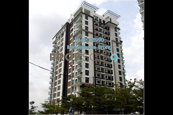 For Sale Condominium at Isola, Subang Jaya Freehold Unfurnished 3R/3B 1.2m