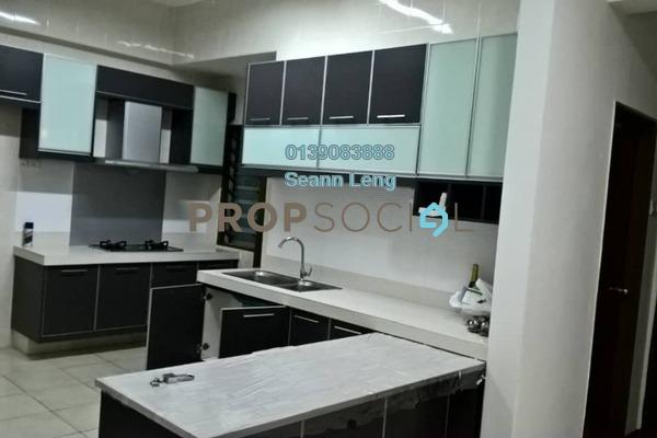 For Rent Condominium at Rosvilla, Segambut Freehold Semi Furnished 3R/2B 1.8k