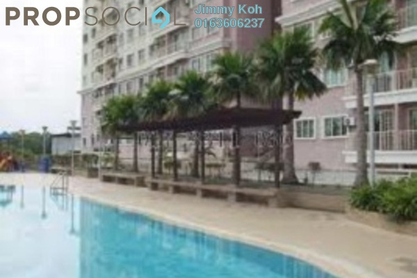 For Rent Condominium at Juta Mines, Seri Kembangan Freehold Fully Furnished 3R/2B 1.15k