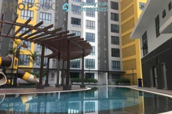 For Rent Condominium at Silk Sky, Balakong Freehold Fully Furnished 0R/1B 1.2k