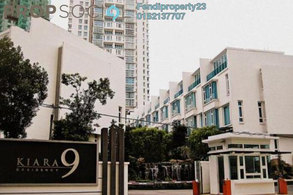 For Rent Condominium at Kiara 9, Mont Kiara Freehold Semi Furnished 4R/4B 7k