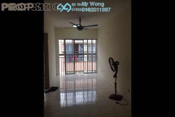 For Rent Apartment at Vista Apartment, Damansara Damai Freehold Unfurnished 3R/2B 800translationmissing:en.pricing.unit