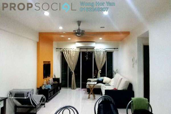 For Sale Apartment at Mandy Villa, Segambut Freehold Semi Furnished 3R/2B 340k