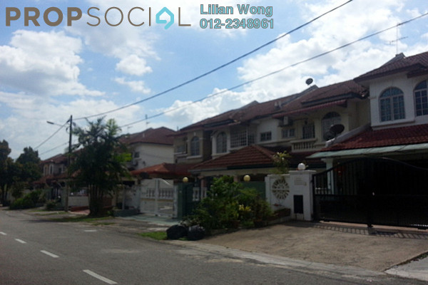 For Sale Terrace at BP1, Bandar Bukit Puchong Freehold Semi Furnished 4R/3B 638k