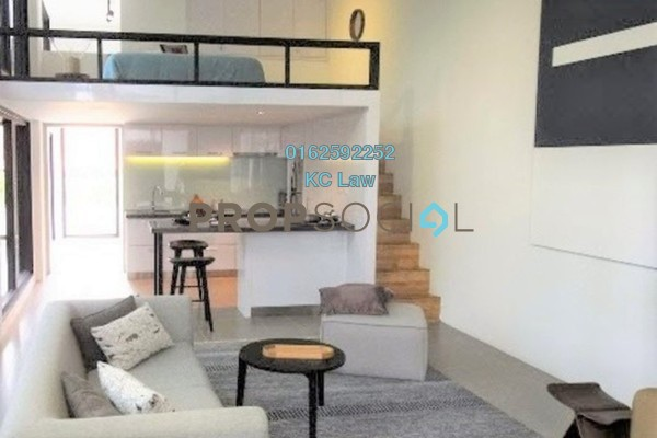 For Rent SoHo/Studio at The Establishment, Brickfields Freehold Fully Furnished 1R/1B 2k