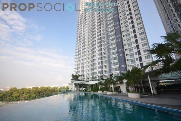 For Rent Serviced Residence at Desa Green Serviced Apartment, Taman Desa Freehold Fully Furnished 2R/2B 1.7k