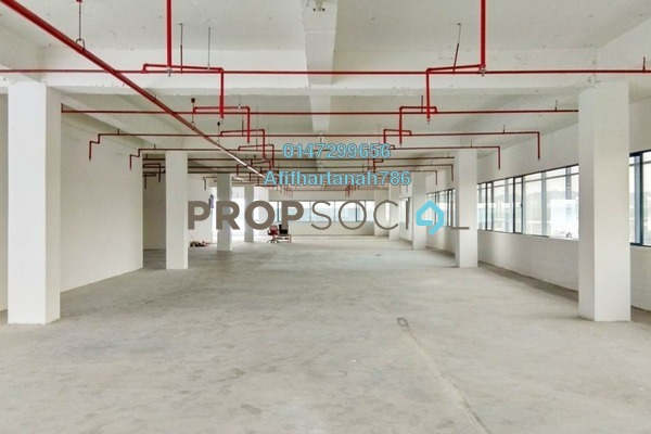 For Rent Factory at Suria Jelutong, Bukit Jelutong Freehold Semi Furnished 0R/0B 9.84k