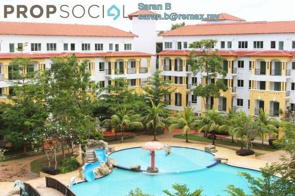 For Sale Condominium at Tiara Desaru Seaview Residence, Kota Tinggi Freehold Semi Furnished 1R/1B 245k