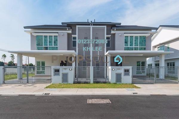 For Rent Semi-Detached at d'Laman Greenville, Klang Freehold Unfurnished 4R/6B 2.7k