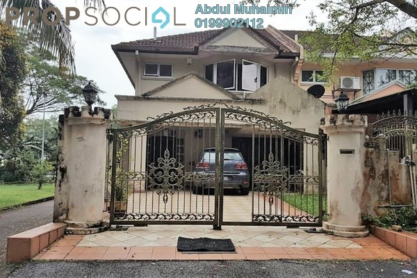 For Sale Terrace at Ukay Perdana, Ukay Freehold Semi Furnished 4R/3B 950k