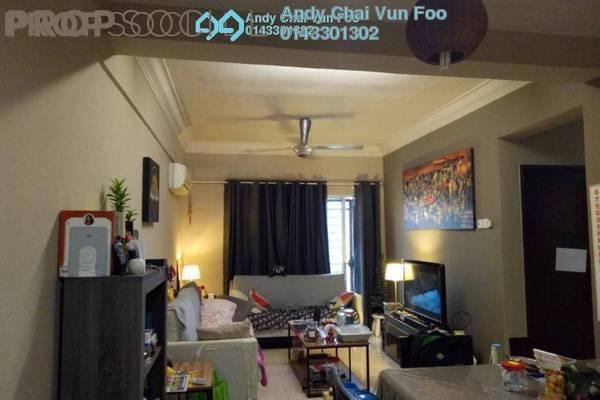 For Sale Condominium at Ampang Boulevard, Ampang Freehold Semi Furnished 3R/2B 480k