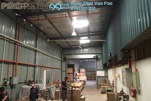For Sale Factory at Kinrara Industrial Park, Bandar Kinrara Freehold Semi Furnished 0R/0B 8m