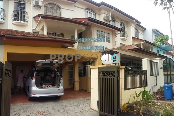 For Rent Terrace at Puteri 8, Bandar Puteri Puchong Freehold Fully Furnished 5R/4B 2.2k