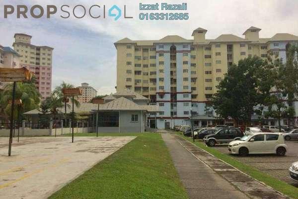For Sale Condominium at Tasik Heights Apartment, Bandar Tasik Selatan Freehold Semi Furnished 3R/2B 298k