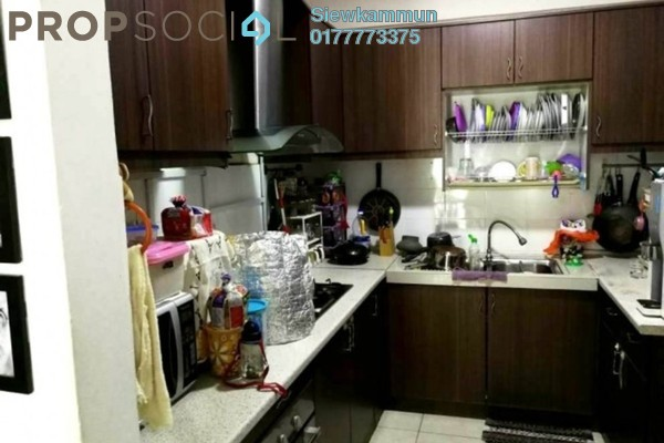 For Rent Apartment at Perdana View, Damansara Perdana Freehold Semi Furnished 3R/2B 1.3k