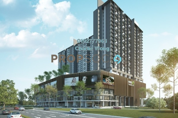 For Rent Condominium at Kiara Plaza, Semenyih Freehold Fully Furnished 3R/2B 1.5k