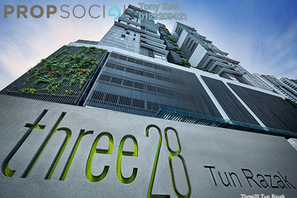 For Rent Condominium at Three28 Tun Razak, KLCC Freehold Fully Furnished 2R/2B 3.9k