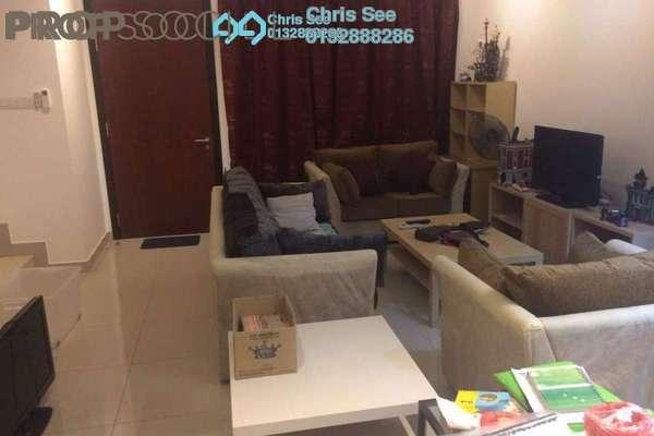 For Rent Terrace at Senna, Bandar Seri Coalfields Freehold Semi Furnished 4R/2B 1.3k