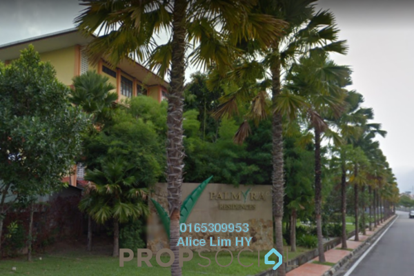 For Sale Condominium at Palmyra Residences, Balik Pulau Freehold Unfurnished 3R/3B 518Ribu