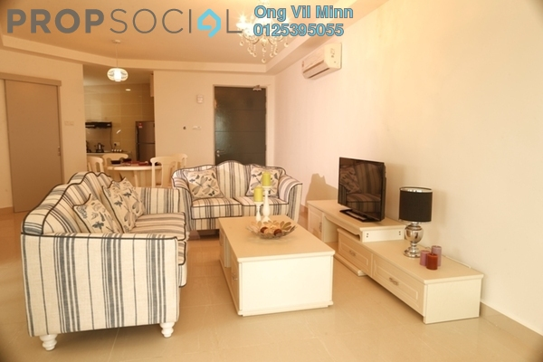 For Rent Condominium at Green Beverly Hills, Putra Nilai Freehold Fully Furnished 2R/2B 1.5k
