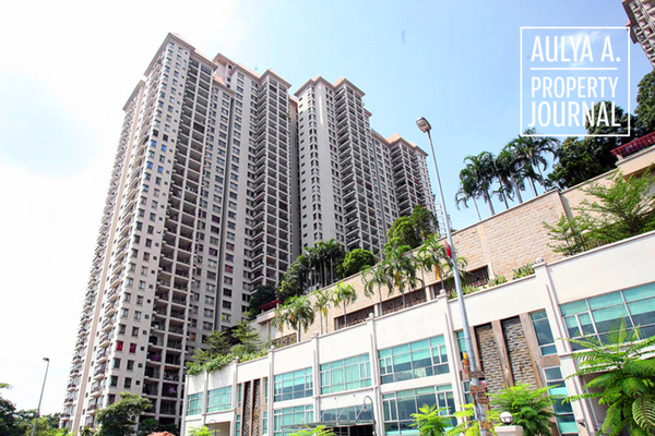 For Sale Condominium at Sri Putramas II, Dutamas Freehold Semi Furnished 3R/2B 630k