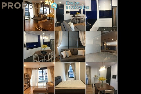 For Rent Condominium at Arcoris, Mont Kiara Freehold Fully Furnished 2R/2B 5k