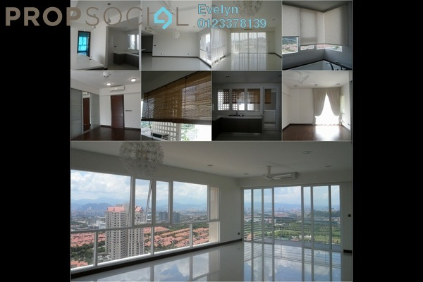 For Rent Condominium at The Northshore Gardens, Desa ParkCity Freehold Semi Furnished 3R/0B 7k