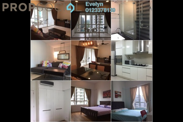 For Rent Condominium at Kiaraville, Mont Kiara Freehold Fully Furnished 4R/3B 5.5k