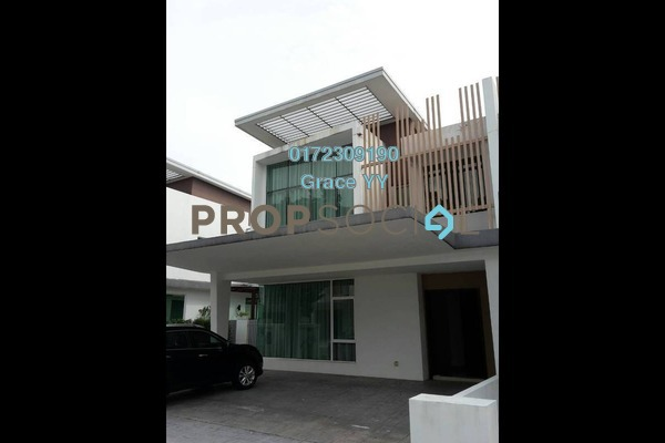 For Sale Semi-Detached at Garden Residence, Cyberjaya Freehold Semi Furnished 5R/4B 1.45m