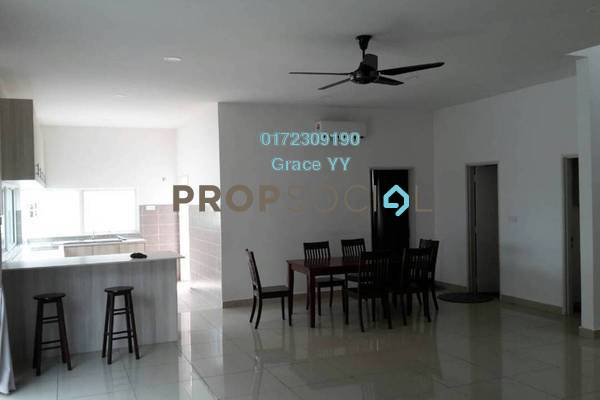 For Rent Semi-Detached at Garden Residence, Cyberjaya Freehold Semi Furnished 5R/4B 3k
