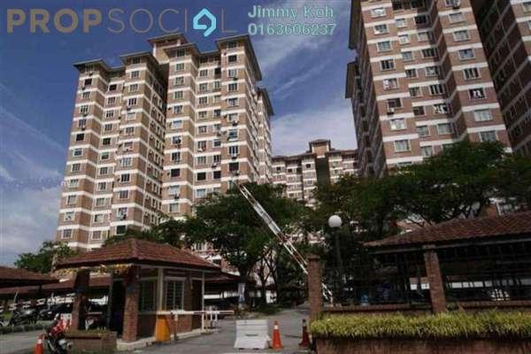 For Rent Condominium at Garden Park, Bandar Sungai Long Freehold Fully Furnished 3R/2B 1.2k