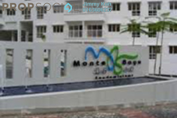 For Rent Condominium at Monte Bayu, Cheras Freehold Fully Furnished 3R/2B 1.6k