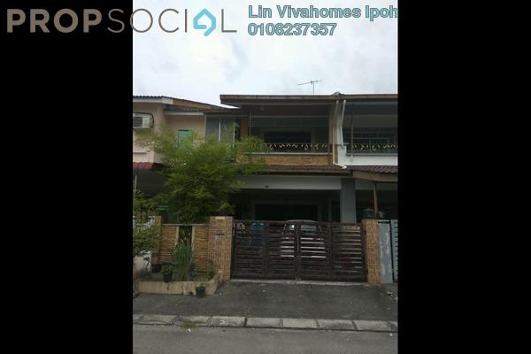 For Sale Terrace at Taman Pengkalan Utama, Ipoh Freehold Semi Furnished 4R/4B 370k