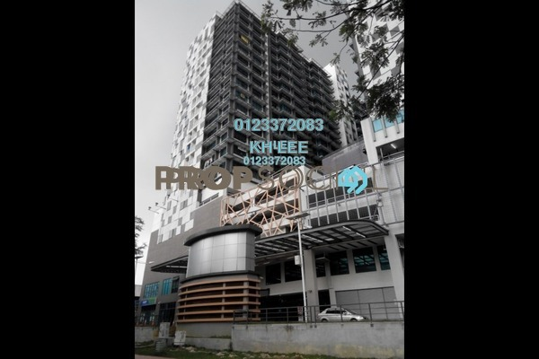For Rent SoHo/Studio at Centrestage, Petaling Jaya Freehold Semi Furnished 1R/1B 1.4k