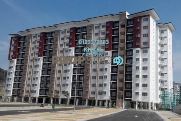 For Sale Apartment at Seri Jati Apartment, Setia Alam Freehold Unfurnished 3R/2B 300k